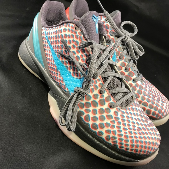 60babea81bc Nike Zoom Kobe 6 VI All-Star 3D Hollywood Blue Red
